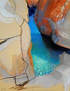 Beth Robertson Fiddes  'Blue Pool'