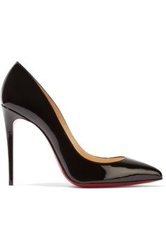 26832f44566 Christian Louboutin - Pigalle Follies 100 patent-leather pumps
