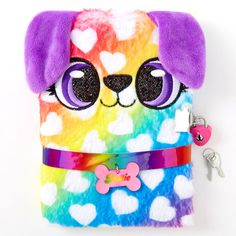 Alexa the Puppy Dress Up Plush Lock Diary Cute Diary, Unicorn Fashion, Cute School Supplies, Party Supplies, Cute Notebooks, Lol Dolls, Girls Accessories, Baby Dolls, Crafts For Kids