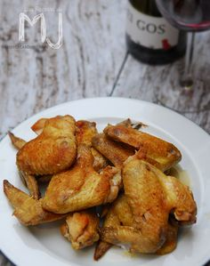 Alitas de pollo en vinagre / Pickled chicken wings
