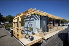 ​Reused materials are more than art: Amazing Spaces Floating Homes