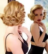 Image result for 1950s pin up hair