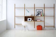 Royal System with Functional Shelving by Poul Cadovius