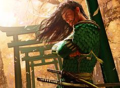 Michael Komarck Fantasy and Science Fiction Illustration работ) Character Concept, Character Art, Concept Art, Samurai Art, Samurai Warrior, Fantasy Warrior, Fantasy Art, Japanese Warrior, Dragon Knight