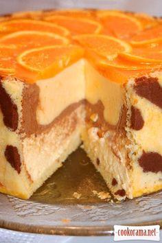 "Торт ""Тигр"" / Торты / Кукорама — вкусные рецепты! Baking Recipes, Cake Recipes, Dessert Recipes, Chocolate Desserts, Vegan Desserts, Mini Tortillas, Torte Cake, Sweet Pie, Mousse Cake"