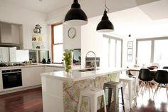 Brad and Lara's kitchen, The Block 2012