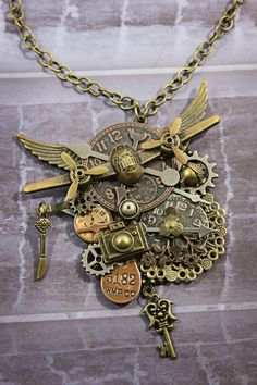 Hey, I found this really awesome Etsy listing at https://www.etsy.com/listing/156284680/steampunk-necklace-steampunk-jewelry