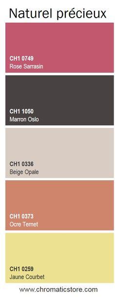 Créez un lieu contemporain et intime grâce à cette palette de teintes naturelles et lumineuses. www.chromaticstore.com
