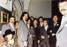 "blacksabbathica: ""Tony Iommi's Wedding, 1973. John Bonham was Tony's best man """