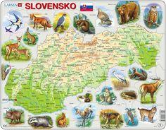 K73 Slovensko a zvierata European Destination, Bratislava, Activities For Kids, Preschool, Mesto, Education, Montessori, Puzzle, Diy