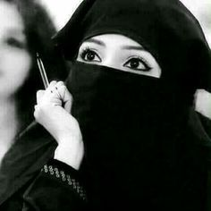 Niqab Eyes, Hijab Niqab, Muslim Hijab, Mode Hijab, Hijab Chic, Hijabi Girl, Girl Hijab, Hijab Bride, Stylish Girls Photos