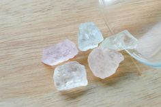 High Quality Multi Color Morganite Facet Rough Clear Crystal 54.60 CT. LOT 5 PCs from Africa by JEWVARY on Etsy
