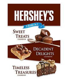Love this Hershey's® 3-in-1 Cookbook by Publications International on #zulily! #zulilyfinds