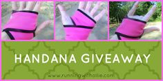 RUNNING WITH OLLIE: A Handana Review, a Limerick, and a Giveaway!
