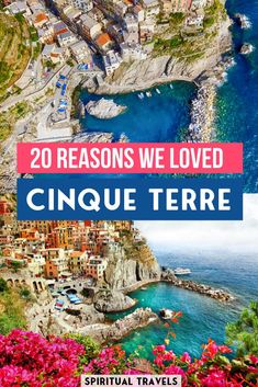 Cinque Terre, Italy is easily one of the most romantic places on earth. On our Italy honeymoon, it was by far our favorite place. Find out 20 reasons why we absolutely loved our Cinque Terre honeymoon! #italy #cinqueterre | cinque terre photography | cinque terre travel | cinque terre things to do | italy things to do | places to visit in italy | italy travel | italy aesthetic | italy photography