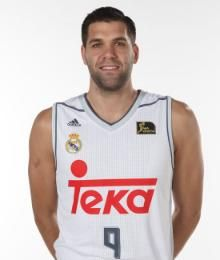 Felipe Reyes, el Pivot Cordobés del equipo Madrileño