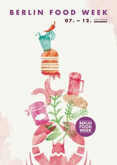 Berlin Food Week 2014 by upstruct #festival https://fr.pinterest.com/igreka2n/festival/
