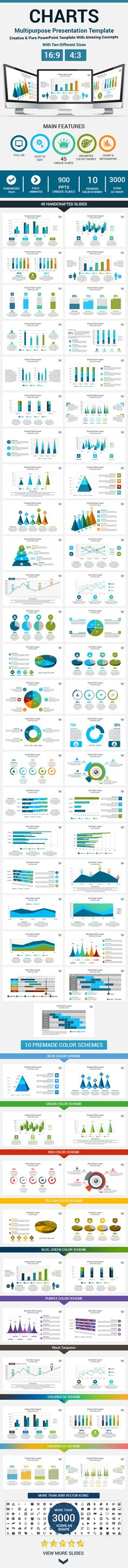 Charts PowerPoint Presentation Template #design Download: http://graphicriver.net/item/charts-powerpoint-presentation-template/11417928?ref=ksioks