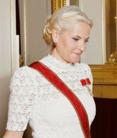 Norwegian Royal Family hosted a dinner  in honour of  German President Joachim Gauck and Mrs. Daniela Schadt at thé Royal Palace June 11, 2014