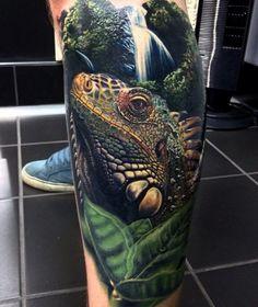Tattoo Protozoan dinosaurs 3D   #Tattoo, #Tattooed, #Tattoos
