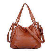 Bolsas Femininas Fashion Women Handbags Bolsas 2015 Women's Genuine Leather Handbag All-match Shoulder/Messenger Big Bags A043(China (Mainland))