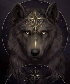 🐺If you Love Wolves, You Must Check The Link In Our Bio 🔥 Exclusive Wolf Related Products on Sale for a Limited Time Only! Tag a Wolf Lover! Anime Wolf, Pet Anime, Artwork Lobo, Wolf Artwork, Wolf Tattoos, Celtic Tattoos, Animal Tattoos, Wolf Painting, Fantasy Wolf