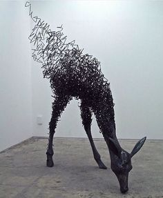 Distorted Reality Sculpture by ©Tomohiro Inaba