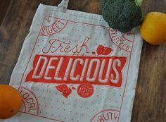 if i needed any more tote bags this one would be an excellent option. by @Mary Kate McDevitt