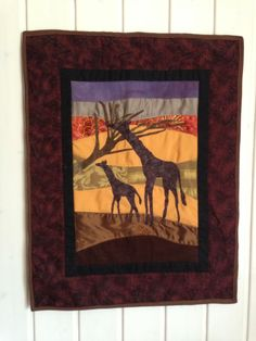 Africa wall hanging