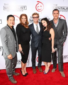 100th Mentalist Ep Party
