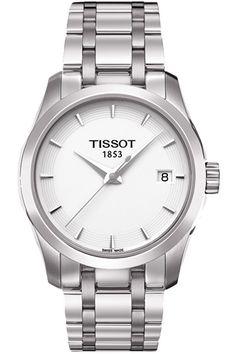 #Tissot Courturier #Ladies White Quartz #watch #fashion