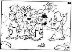 12 disciples coloring page see more resultado de imagen para la eleccion de los apostoles para imprimir y pintar