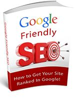 An easy to use guide that provides you with all the information you need to keep your website at the top of the search results, whilst keeping Google happy. - Download for FREE!... http://freebookoftheday.com/1e.php?p=615&b=googlefriendlyseo