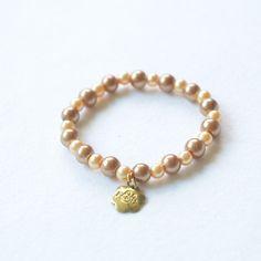 Liberty Classic Bracelet | $18 | #pearls #bridesmaids #handmade