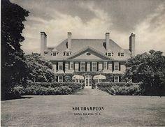 'Ballyshear', the Charles Blair Macdonald estate designed by F. Burrall Hoffman Jr. c. 1913.