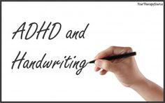 ADHD and handwriting