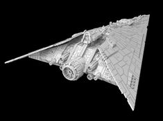 Spaceship Concept, Concept Ships, Star Wars Ships, Star Wars Art, Star Wars Spaceships, Star Wars Vehicles, Comic Book Superheroes, 3d Model Character, Star Wars Models