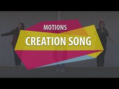 (2) MOTIONS (Creation Song) - YouTube Bible Lessons, Lessons For Kids, Children's Church Songs, Graduation Songs, Preschool Graduation, Sunday School Songs, Bible Heroes, Preschool Bible