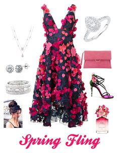 """""""Spring Fling"""" by gmarie-4 ❤ liked on Polyvore featuring Notte by Marchesa, Mint Velvet, Dolce&Gabbana, BERRICLE, Sole Society and Marc Jacobs"""