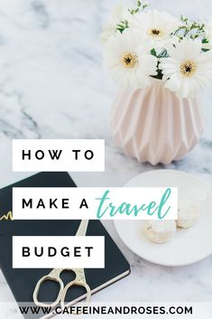 Not sure how much your next vacation will cost? Make a travel budget with our step by step guide and budget tips! Plus FREE travel budget worksheet to get you started!