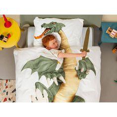 Pościel Snurk Dragon 140x200 w Decoarty.pl Dragon, Templates, Future Tense, Dragons