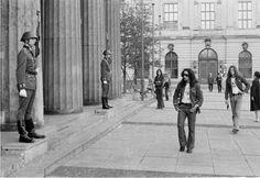 Mick Box of Uriah Heep on a German tour East Berlin September 1971