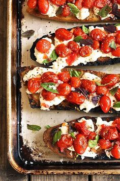 The Next Best Caprese Variation: Grilled Bruschetta