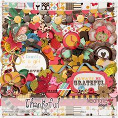 Thankful kit by Neia Arantes