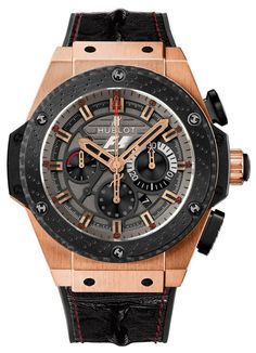 Another rarity, the F1 Racing x HUBLOT – Formula 1 King Power Great Britain Chronograph Watch http://freshn.es/MUjC40