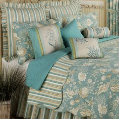Beach bedding (Master Bedroom King) now is this cheap or do I love it?