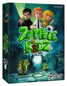Zombie Kidz from  Asmodee Editions! Co-op game for little kids. I'd say ages 5-8