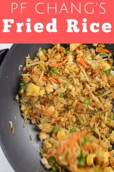 Best Fried Rice Recipe, Chicken Fried Rice Recipe Easy, Easy Rice Recipes, Pf Chang Shrimp Fried Rice Recipe, Pork Fried Rice Recipe Authentic, Pf Changs Fried Rice Recipe, Fried Rice With Chicken, Fast Chicken Recipes Easy, Recipes For Cooked Chicken