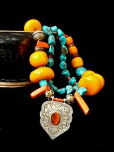 thejoymooscollection   Stunning Necklace Double Strand Necklace from The Joy Moos Collection,