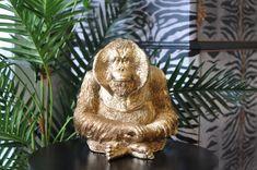 Eclectic Vases, Eclectic Decor, Flamingo Ornament, Head Planters, Indoor Plant Pots, Quirky Home Decor, Luxury Decor, Orangutan, Colorful Decor